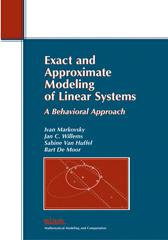 Exact and Approximate Modeling of Linear Systems: A Behavioral Approach